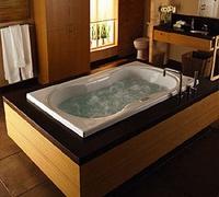 Джакузи в ванной!